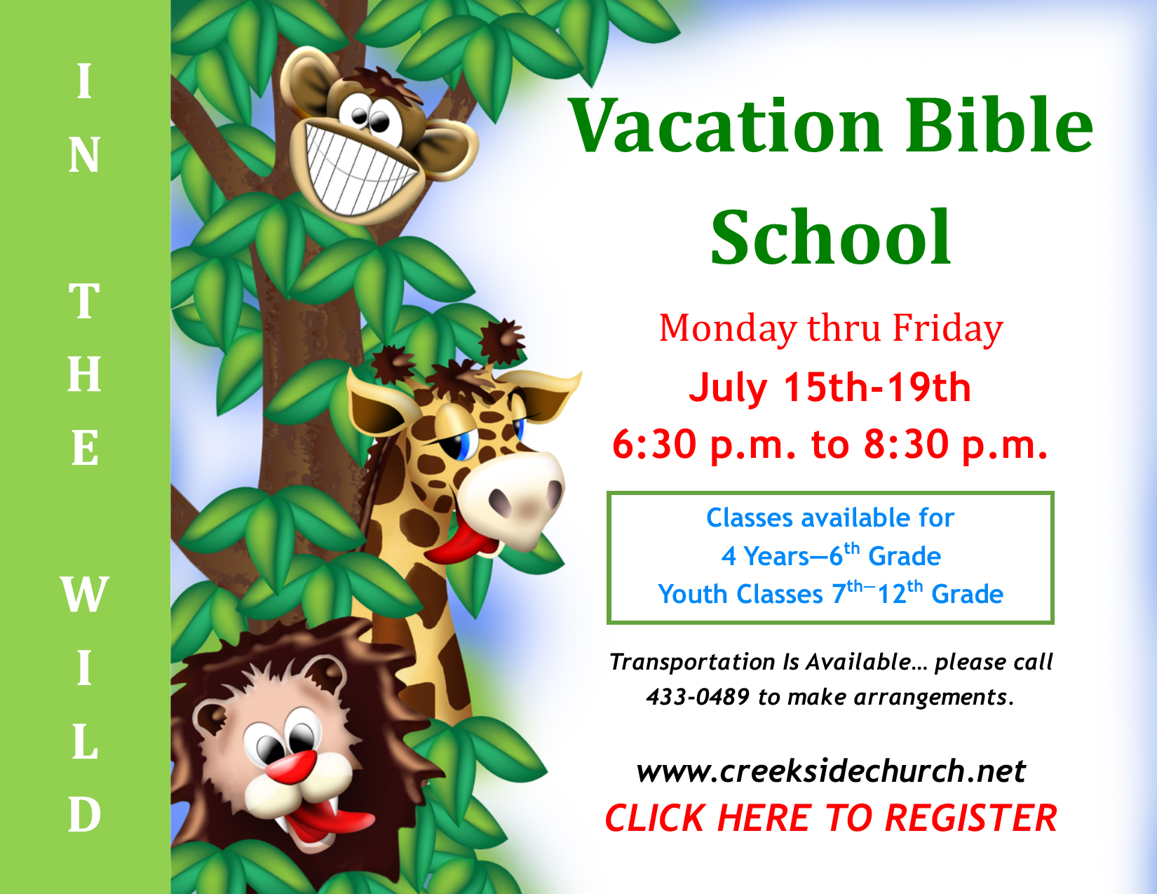 Click to register for VBS.